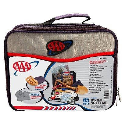 AAA 65-pc. Winter Safety Kit