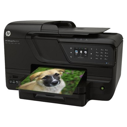 HP Officejet Pro 8600 All-In-One Wireless Multifunction Inkjet Printer - Black (CM749A#B1H)