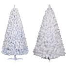 Pre-Lit White Glacier Pine Tree Collection