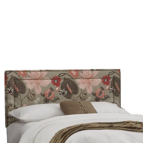 Nailbutton Headboard Blossom - Skyline Furniture
