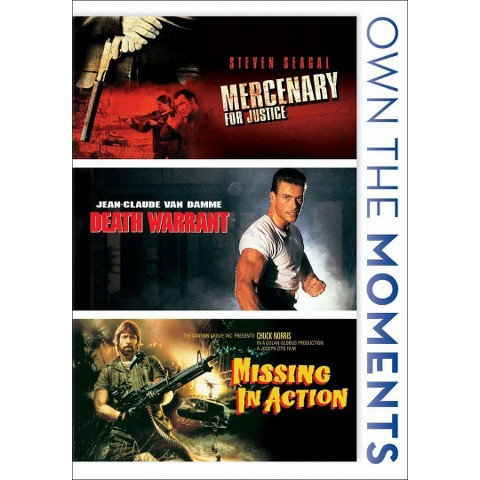 Mercenary for Justice/Death Warrant/Missing in Action (3 Discs) (Widescreen)