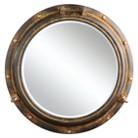 Metal Porthole Mirror