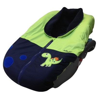 Pistachio Car Seat Covers - Lime/Toss