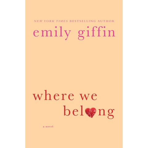 Where We Belong by Emily Giffin (Audiobook CD)