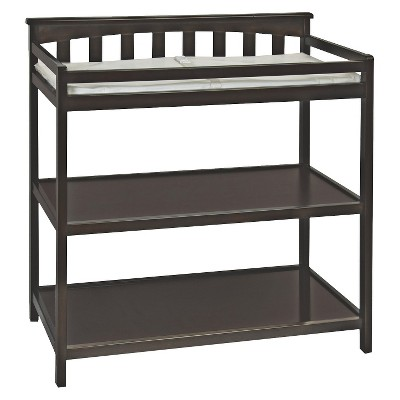 Child Craft Flat-top Changing Table - Jamocha