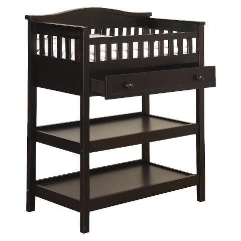 Child Craft Watterson 4-in-1 Convertible Crib - Jamocha