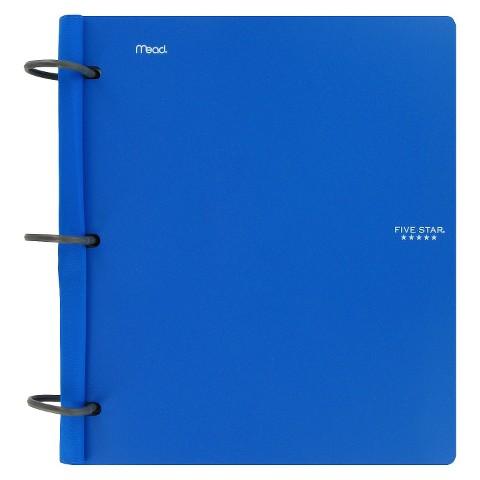 "Mead Five Star Flex Hybrid Notebinder - Blue (1.5"")"