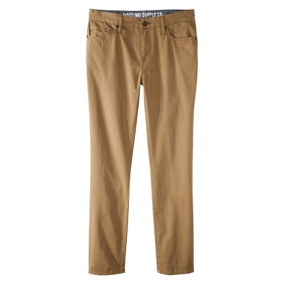 Mossimo Supply Co. Men's Slim Straight Fit Twill Pants