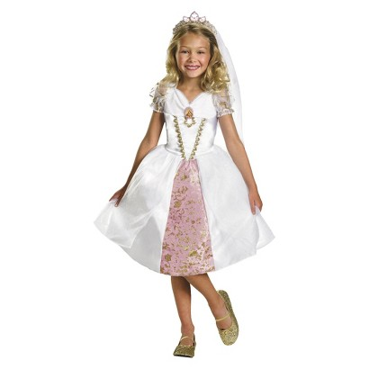 Girl's Rapunzel Wedding Gown Costume