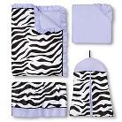 Purple Funky Zebra Collection