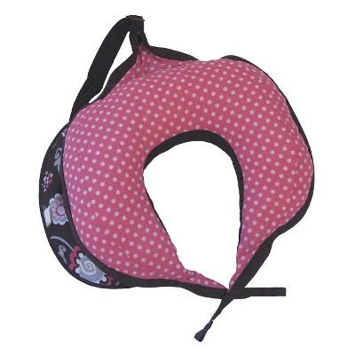 Boppy Travel Pillow for Nursing - Pink Olivia