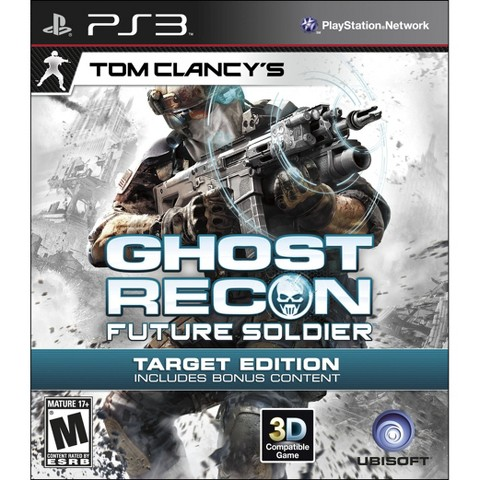 Target Exclusive- Tom Clancy: Ghost Recon-Future Soldier