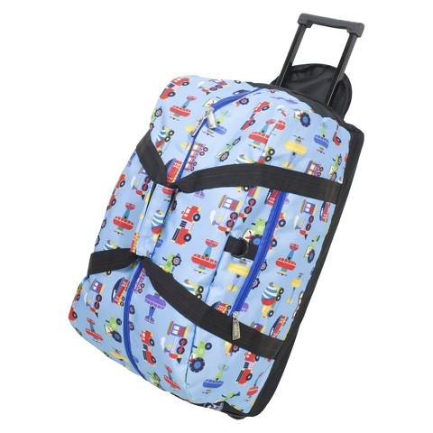 Wildkin Rolling Duffel Bag - Blue
