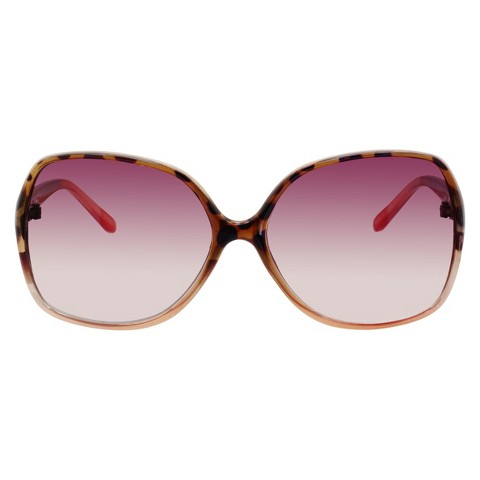 Gradient Sunglasses with Tortoise Frame