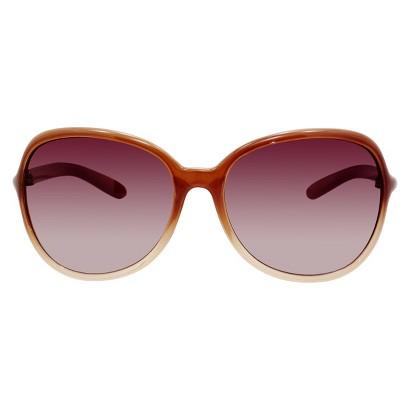 Merona® Gradient Brown Lens Sunglasses - Light Brown Frame