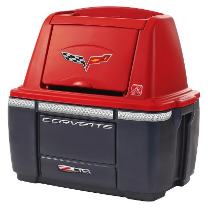 Step 2 Red Corvette Storage Chest