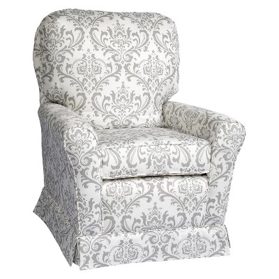 Little Castle Crown Swivel Glider - Bordeaux Grey