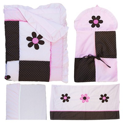 Pam Grace Creations 10pc Crib Bedding Set - Pam's Petals
