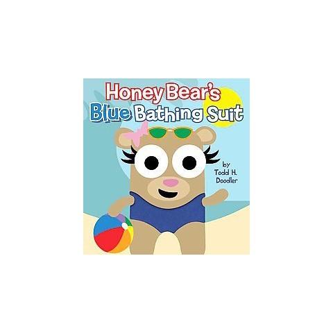 Honey Bear's Blue Bathing Suit (Hardcover)