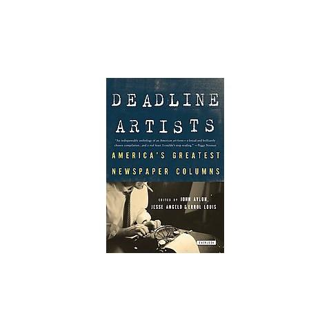 Deadline Artists (Reprint) (Paperback)