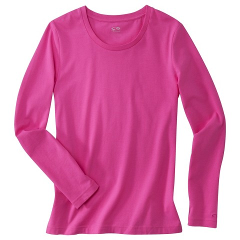 C9 Champion® Womens Long Sleeve Performance Cotton Tee