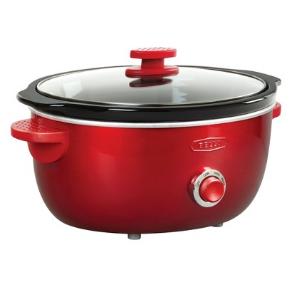 Bella Dots Collection 6 Qt Manual Slow Cooker – Assorted Colors