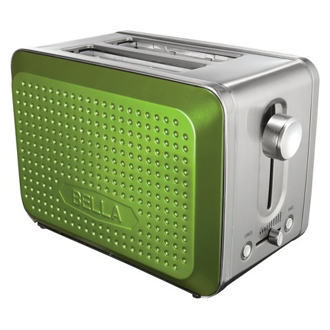 Bella Dots Collection 2 Slice Toaster – Assorted Colors