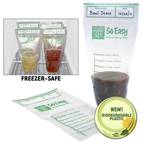 Fresh Baby So Easy Portion Storage Bags