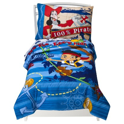 Disney® Jake and the Neverland Pirates 4 Piece Bedding Set - Toddler