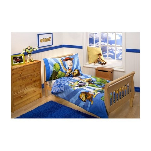 Disney® Toy Story 4 Piece Bedding Set - Toddler