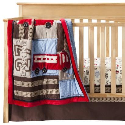 NOJO Engine 27 8pc Set  - 8 Piece Infant Crib Set
