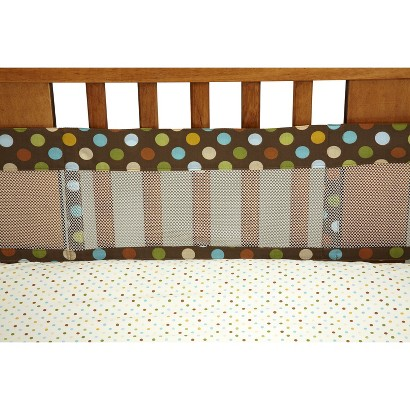 NOJO Jungle Tales Mesh Crib Liner  - Standard