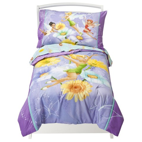 Disney® Tinkerbell 4 Piece Bedding Set - Toddler