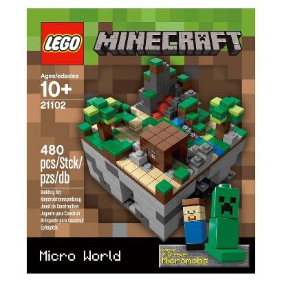 LEGO® Minecraft Micro World 21102