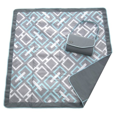 JJ Cole Outdoor Blanket - Gray Links