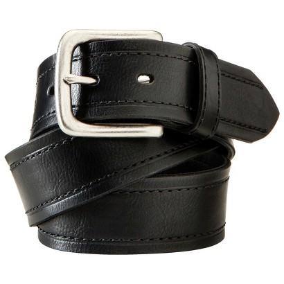 Merona® Men's Leather Belt - Black