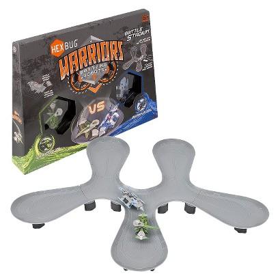 Hexbug Warriors Battle Stadium - Viridia vs. Bionika