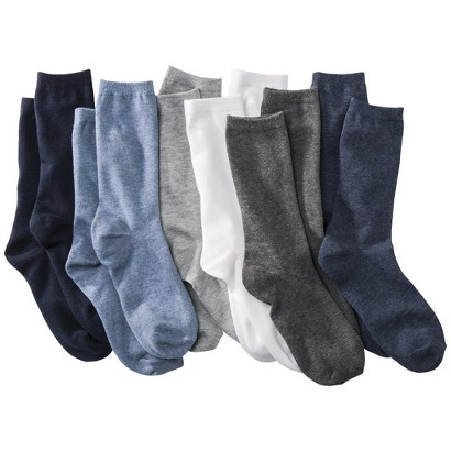 Women's Crew Socks 6-Pack - Merona®