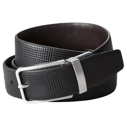 Merona® Men's Reversible Belt - Black/Brown