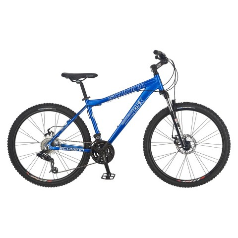 "Schwinn Mens 26"" Contact DSX Mountain Bike - Blue"