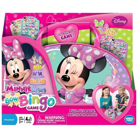 Minnie Mouse Bow-tique Bingo Game