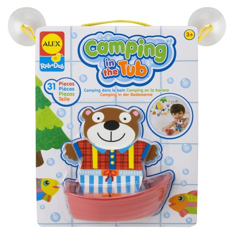 Alex Toys Camping in the Tub Bath Toy