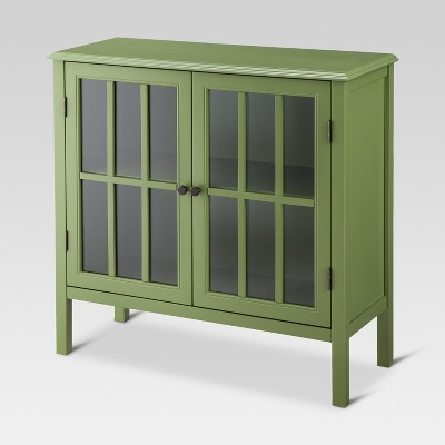 Windham Two-Door Storage Cabinet Green - Threshold™