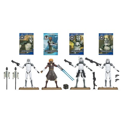 """Star Wars 104Th Battalion """"Wolf Pack"""" Clone Troopers Ultimate Gift Set"""