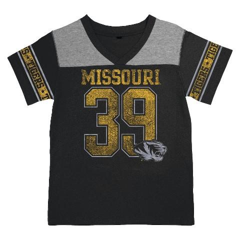 Missouri Tigers Black Girls Tunic