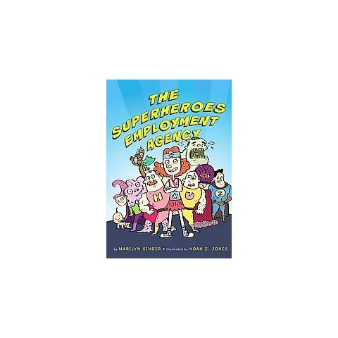 The Superheroes Employment Agency (Hardcover)