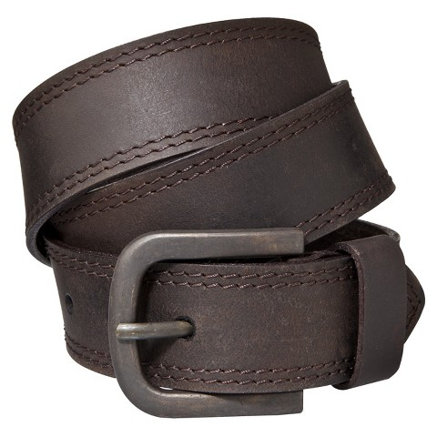 Dickies® Men's Double Edge Stitched Belt - Brown
