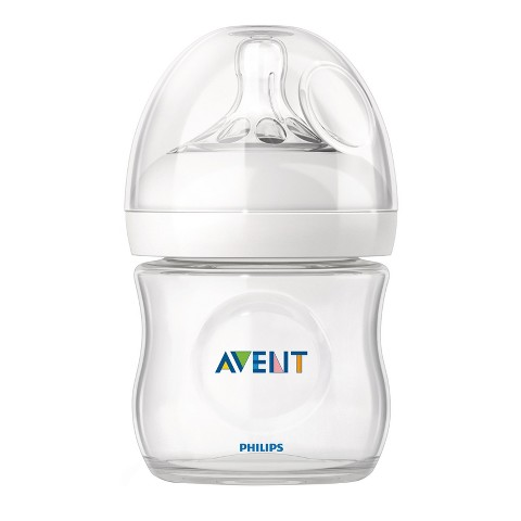 Philips Avent BPA Free Natural 9 Ounce Polypropylene Bottle, 1-Pack