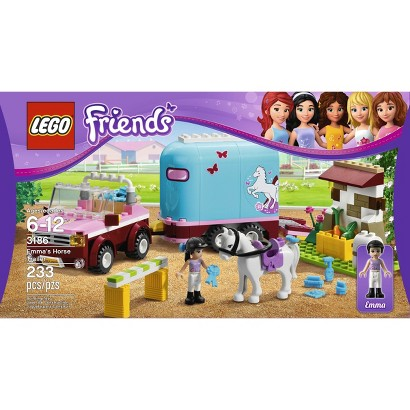 LEGO® Friends Emma's Horse Trailer 3186