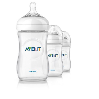 Philips Avent Natural Bottle - 9 oz ( 3 Pack)